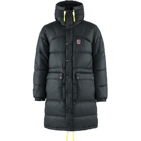 Fjällräven Expedition Pack Parka En Duvet Long Homme, black